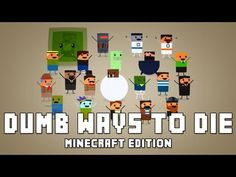 I hope you guys enjoy this Minecraft parody of Dumb ways to die! Please consider leaving a like and share it with your friends! :)    Lyrics (with help from Pedro and Abbey) and Production by Vareide  Twitter: http://www.twitter.com/vareide  Facebook: http://www.facebook.com/vareide    Balbod (Animation): http://www.youtube.com/balbod  Abbey (Singing):...
