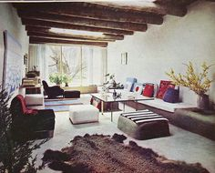 Georgia O'Keefe's house, 1965 by warymeyers blog, via Flickr