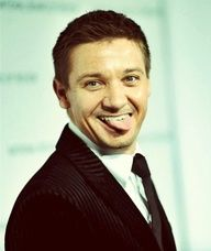 Jeremy Renner: I could look at this man all day long. One of my favorite actors!!