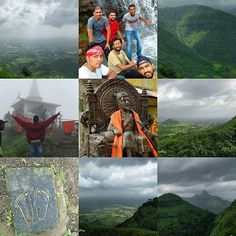 The# Vikatgad #Peb fort is situated next to #Matheran Mountain. It is assumed that this fort derived its name Peb from the 'Goddess Pebi' at the base of the fort. Historical references clearly indicate that #ShivajiMaharaj used the caves on the fort as silos for grain storage and ammunition. The top of the fort is very narrow and a recently built temple with Lord Datta's paduka idol at the center is constructed. There is a lone residential hut or Datta temple on the southern side of the…