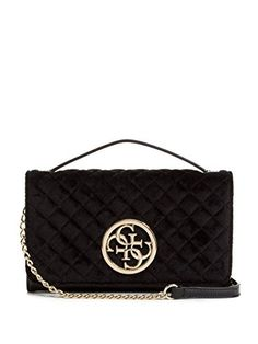 fc8433d5d5eb New GUESS Quattro G Velvet Crossbody Wallet Women Bag.   65  topoffergoods  Fashion is