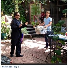 Scene from Such Good People with Randy Harrison
