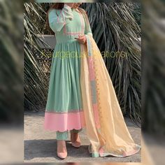 Designer Party Wear Dresses, Indian Designer Outfits, Indian Outfits, Embroidery Suits Punjabi, Embroidery Suits Design, Saree Designs Party Wear, Stylish Dresses For Girls, Pakistani Dresses Casual, Dress Indian Style