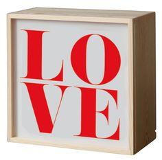 Lighthink box Wandleuchte / Wandleuchte - mit 4 austauschbaren Designs - 21 x 21