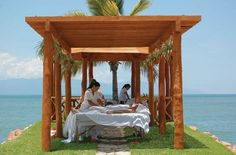 Relaxing massage at the beach Spas, Puerto Vallarta Vacations, Vallarta Mexico, Best Spa, Hotel Spa, Vacation Spots, Stuff To Do, Villa, Relax