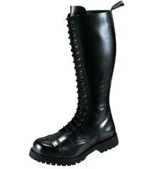 Boots & Braces Stiefel 20-Loch Rangers Schwarz - http://on-line-kaufen.de/boots-braces/boots-braces-stiefel-20-loch-rangers-schwarz