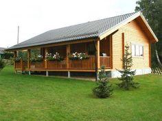 Casa de madeira é tradicional na Europa e USA