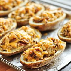 Bacon-Cheddar Twice-Baked Potatoes