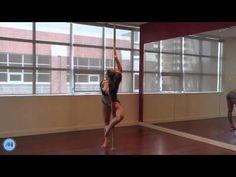 Pole Dance Tutorial - Ballerina - YouTube