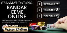 Mencari Bandar Judi Ceme Online Uang Asli Deposit Termurahdan Terpercaya di Indonesia ? kalian hanya perlu mencari situs tersebut di rumahpokeronline.