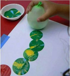 Balloon painting