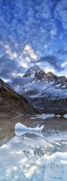 Aoraki/Mt Cook New Zealand; photo by Timothy Poulton on 500px