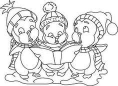 penguin carol singers