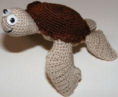 ispirazione eklektika: amigurumi: schema tartaruga marina