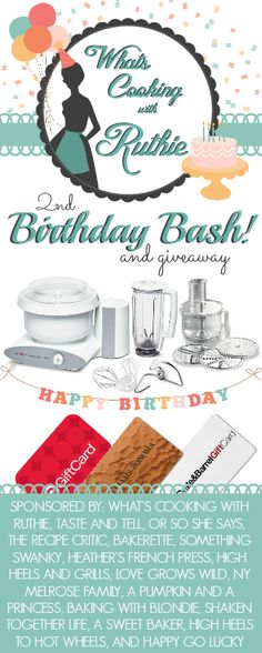 It's Giveaway TIME!!!!!! Enter to win a Bosch Universal Plus Mixer and gift cards to Target, Williams Sonoma and more!