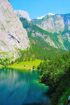 Obersee, Fischunkel Alm, Bavaria Germany