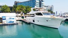 We hope you had time to visit the Gulf Craft yachts on display at the Singapore Yacht Show. Today is the last day of you haven't. ________ To know more visit our website! Link in bio. ________ #GulfCraft #NomadYachts #Nomad65  ________ #Singapore #SingaporeYachtShow #sys2016 #Singyachtshow #luxury #superyacht #love #yacht #yachting #boat #boating #yachtlife #Dubai #UAE #KSA #Lebanon #Qatar #Doha #Kuwait  #Saudi #دبي #الامارات #الكويت #الدوحة #السعودية #قطر by gulfcraftinc