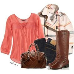 Wish I could have an adorable jacket with every outfit!!