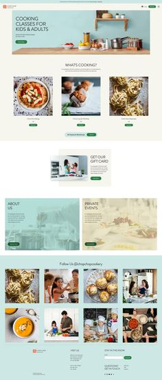 Cooking Classes Website Template | Wix Website Template