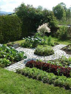 Kitchen vegetable garden | jardin potager | bauern… Ornamental potager.