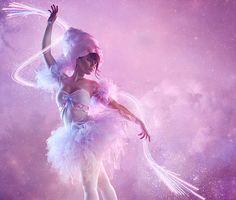 Cotton Candy Ballerina