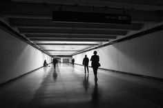 Light at the end... (Powell Street Subway Station) by Jim Watkins on 500px
