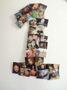 Teddy Bear Picnic Birthday Party: 1st birthday picture collage