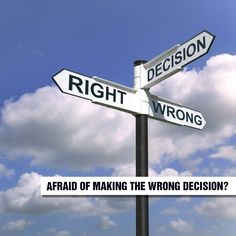"""Sometimes we're afraid of making the wrong decision. And that creates stress.  But God says there is an antidote to our indecision. Psalm 23:3 tells us, """"He guides me along the right paths for his name's sake."""" We handle the stress of decision-making by letting God guide us...Read More at http://ibibleverses.christianpost.com/bible-verses-about-devotional/afraid-of-making-the-wrong-decision"""