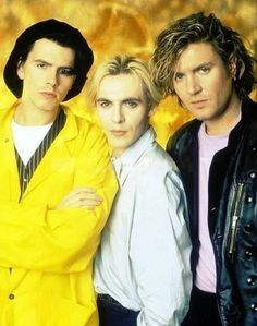 John with the hazmat, Nick with the curtains, and Simon lookin like a bad boy