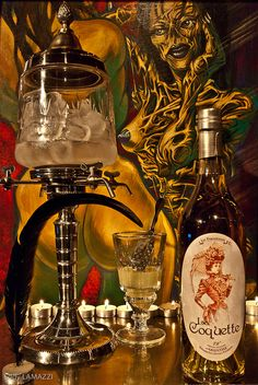Absinthe LA COQUETTE by Eddy LAMAZZI, via Flickr