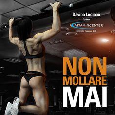 NON MOLLARE MAI! #MotivationMonday  Buona settimana di allenamento a tutti!  => www.vitamincenter.it   #buongiorno   #buon   #lunedì   #allenamento   #palestra   #muscoli   #fatica   #sudore   #fitness   #bodybuilding   #motivationmonday   #motivationalmonday   #frasi   #motivazionali