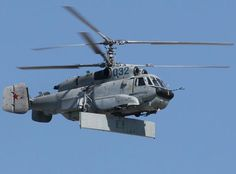 The Kamov Ka-31 (NATO reporting name 'Helix') is a military helicopter developed for the Soviet Navy and currently in service in Russia, China and India. First flight in 1983.