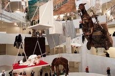Maurizio Cattelan   Retrospective at Guggenheim, New York   feel desain
