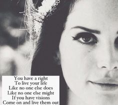 "Lana Del Rey #LDR #May_Jailer #Peace (aka ""All You Need"")"