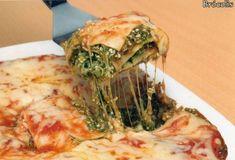 Lasanhas | Receitas Do Céu Spanakopita, Vegetable Pizza, Lasagna, Cabbage, Vegetables, Ethnic Recipes, Continue, Creme, Grated Cheese