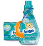 The Ultimate in Snuggly Softness   Snuggle Fabric Softener.  Blue Iris and bamboo silk.  This stuff is the best!