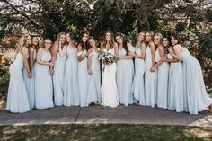 Shop for a large variety of mist bridesmaid dresses at Azazie. With bridesmaid dresses from Azazie, you are sure to find a mist bridesmaid dress for the perfect look for your wedding. Blue Bridesmaids, Wedding Bridesmaids, Wedding Dresses, Wedding Pics, Dream Wedding, Wedding Ideas, Mamma Mia Wedding, Baby Blue Weddings, Turquoise Weddings