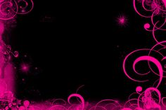 pink and black butterfly wallpapers | Black Pink Wallpaper by Marta86
