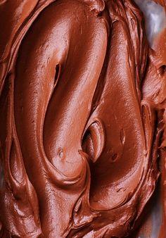 Nutella Sour Cream Frosting