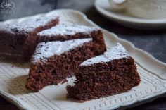 torta al latte caldo e cacao o