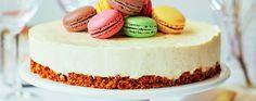 James Martin's No-bake Christmas Cheesecake