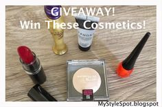 MyStyleSpot: GIVEAWAY: Win Sephora, Urban Decay, and more in this Cosmetics Contest #win #giveaway #cosmetics #makeup OPEN WORLDWIDE! Ends march 31, 2015. #sweepstakes #beauty #lipgloss #lipstick #blush #primer #eyeliner #urbandecay #sephora #zoya #maybelline #mystylespot #blog