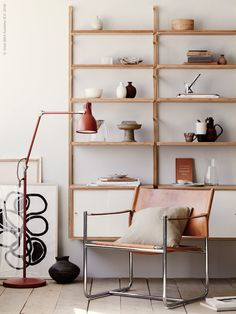 A mix of old and new Ikea pieces - via Coco Lapine Design blog