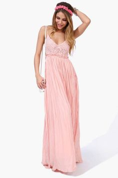 Feel like something truly special when you slip into this romantic number…