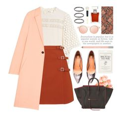 join our new contest (view description) by jesuisunlapin on Polyvore featuring polyvore fashion style Line + Dot Cédric Charlier Topshop H&M CÉLINE Le Specs Urban Decay Bobbi Brown Cosmetics Yosh Forever 21 Cole & Son clothing lace metallic CasualChic JeSuisunLapin