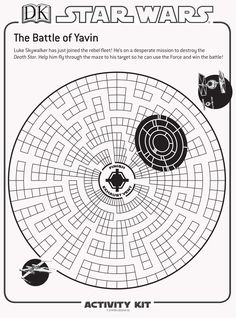 The ultimate activity sheets for any Star Wars fan!