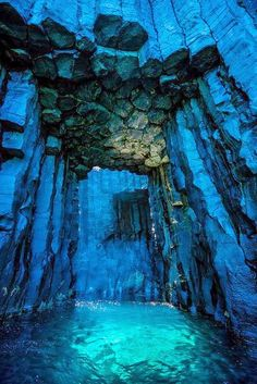 Sea Caves, Taiwan. Put me here with a pool float and a bottomless Margarita ans you'll have one happy woman!