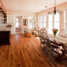 Lake Dore - Cottage - traditional - dining room - ottawa - Gaylord Hardwood Flooring