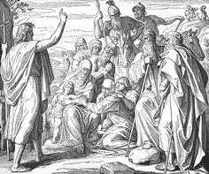 Bilder der Bibel - Kindermord zu Bethlehe - Julius Schnorr von Carolsfeld