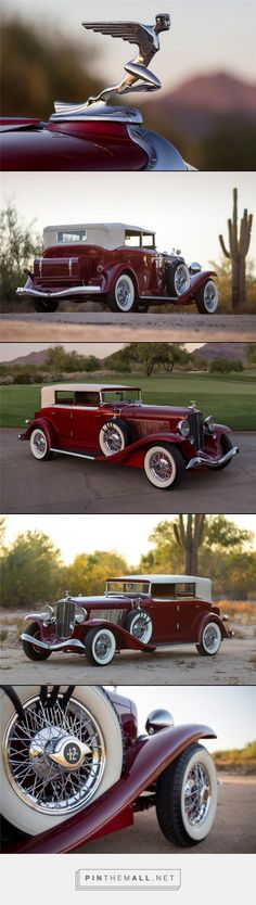 1933 AUBURN 12 161A SALON PHAETON CONVERTIBLE. Put simply, a mobile work of art.